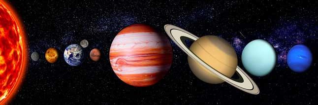 Все планеты, Солнечная система, планетная система, Солнце, космос, звезды, иллюстрация, схема, Меркурий, Венера, Земля, Марс, Юпитер, Сатурн, Уран, Нептун, Луна
