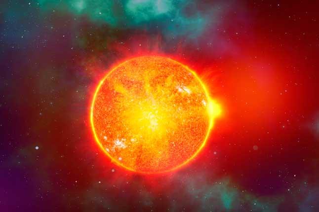 Солнце, звезда, космос, светило, вселенная
