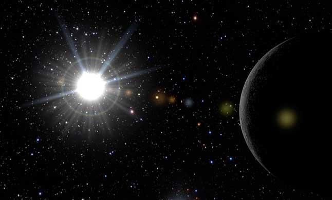 Солнце, Меркурий, планета, звезды, космос