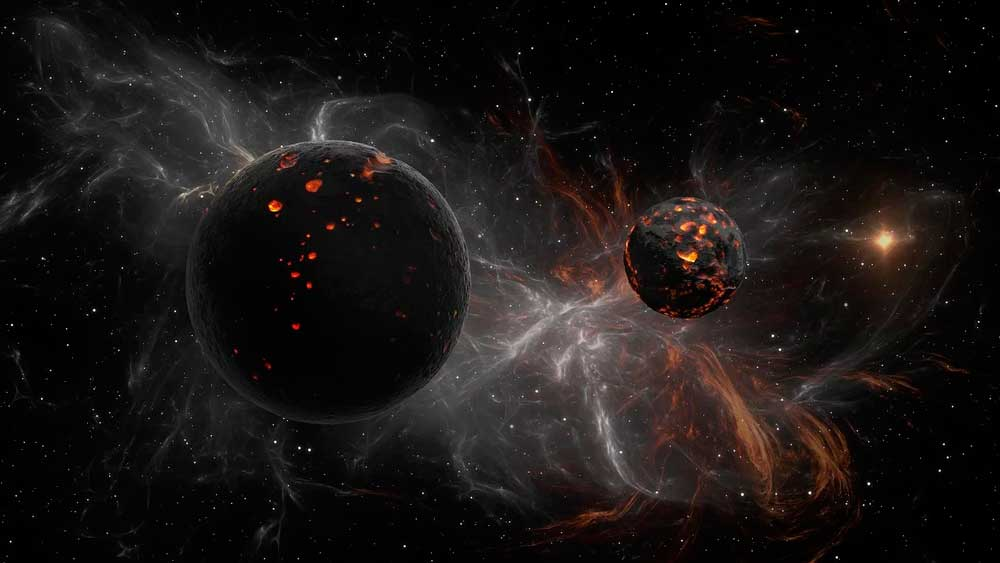 космос, образование планет, звезды, Солнце