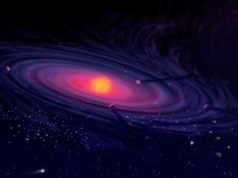 образование Солнечная система, иллюстрация, протосолнце, протопланеты
