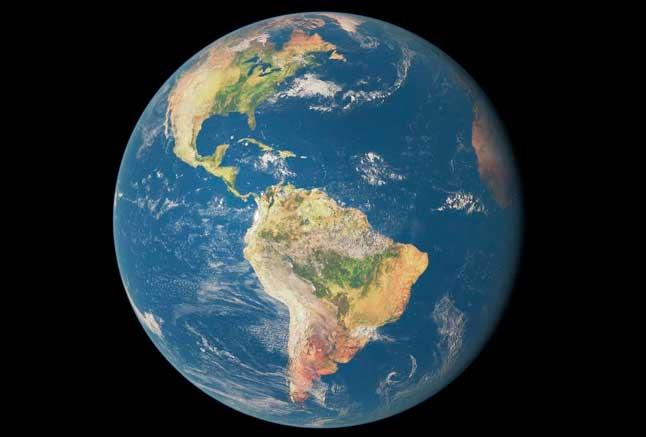 Земля, планета, фото