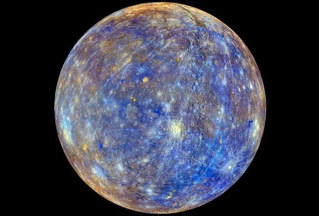 Меркурий, планета, фото, из космоса