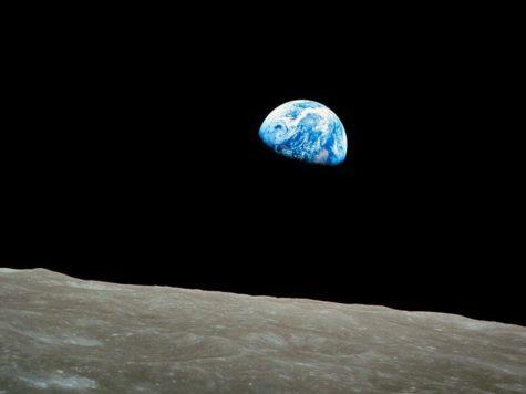 Поверхность луны, космос, Земля, фото, NASA, НАСА