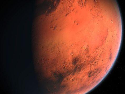 Марс, планета, космос, звезды, Солнечная система, иллюстрация, фото