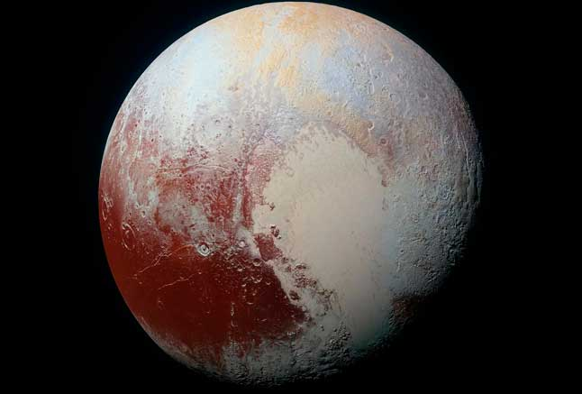 Плутон, карликовая планета, фото