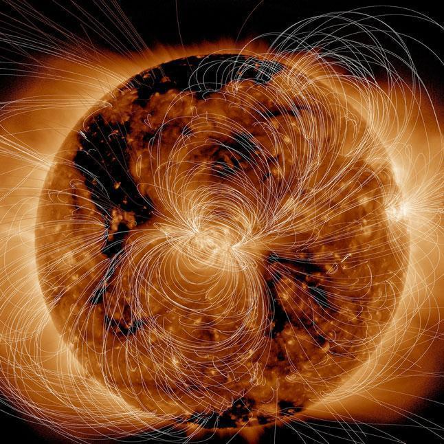 Солнце, звезда, магнитное поле