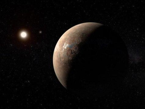 экзопланета, звезды, вселенная, космос, Проксима Центавра b, Альфа Центавра, иллюстрация, рисунок