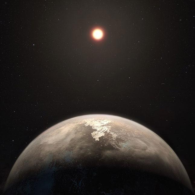 экзопланета, звезды, вселенная, космос, осс 128 b, созвездие Девы, иллюстрация, рисунок