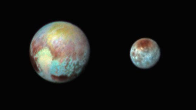 Плутон, Харон, карликовые планеты, фото, спутники, космос