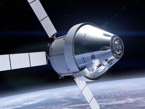 космический корабль, Орион, космос, Земля, орбита, полет, НАСА, NASA