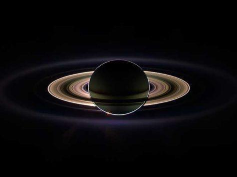 Сатурн, планета, Солнечная система, кольца, свет, картинка, иллюстрация, изображение,