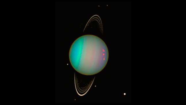 Уран, планета, кольца, спутники, космос, фото, телескоп, Хаббл, Hubble, НАСА, NASA