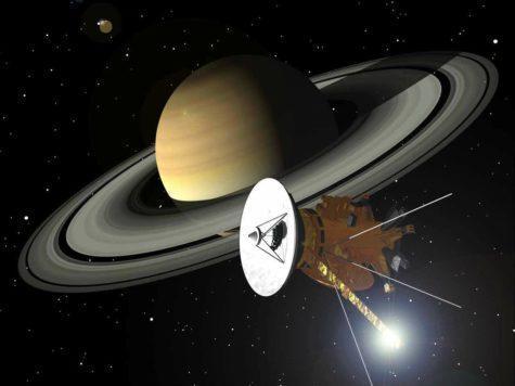 Сатурн, планета, кольца, космический аппарат, зонда, спутник, Кассини, НАСА, иллюстрация