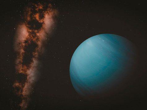 Нептун, восьмая планета, Солнечная система, космос, пространство, Млечный путь, галактика, звезды, иллюстрация