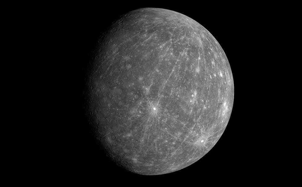 Меркурий, планета, поверхность, кратеры, космос, пространство, фото, изображение, иллюстрация