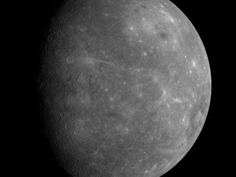Меркурий, планета, обратная сторона, космос, исследование, фото, Мессенджер, MESSENGER, НАСА, NASA, космический аппарат