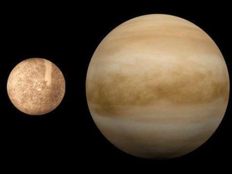 Меркурий, Венера, планеты, Солнечная система, фото