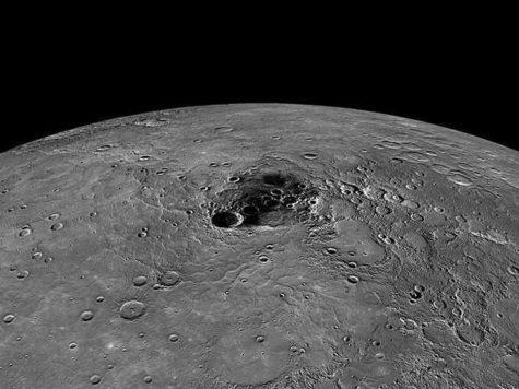 Меркурий, планета, Северный полюс, поверхность, кратера, лед, исследование, фото, Мессенджер, MESSENGER, НАСА, NASA, космический аппарат