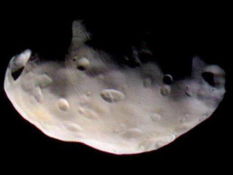 Пандора, спутник, сателлит, луна, Сатурн, планета, НАСА, NASA, Кассини, Cassini, космос, фото