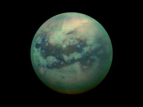 Титан, спутник, сателлит, луна, Сатурн, планета, НАСА, NASA, фото