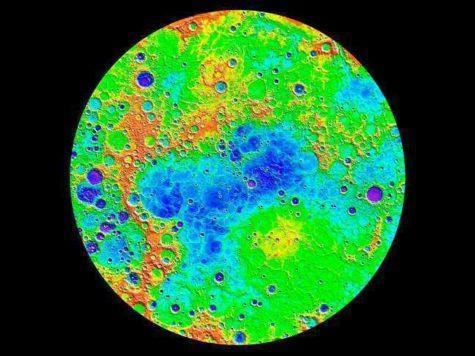 Меркурий, планета, типографии, геология, карта, поверхность, рельеф, состав, цвета, Мессенджер, MESSENGER, НАСА, NASA, космический аппарат