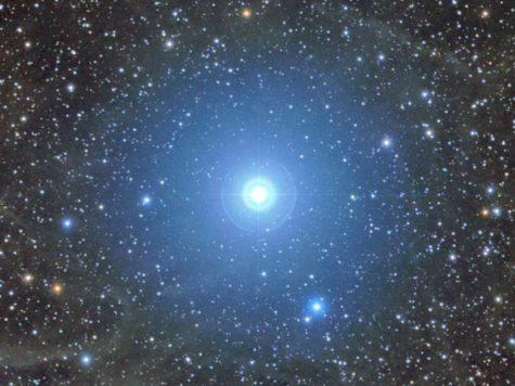 Полярная звезда, звездное небо, Малая Медведица, космос, пространство, звезды, фото