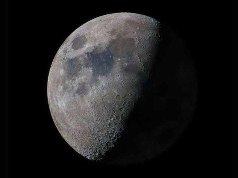 Луна, фото, поверхность, кратеры, солнечный свет, тень, спутник, крупный план