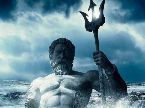 Бог, Нептун, древнегреческая мифология, иллюстрация, картинка
