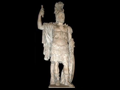 статуя, Марс, бог войны, древнеримская мифология
