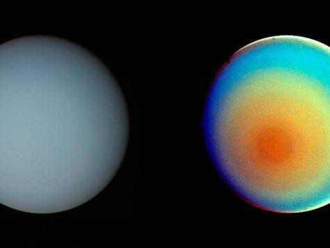 Уран, планета, фото, Вояджер-2, Voyager-2, НАСА, NASA