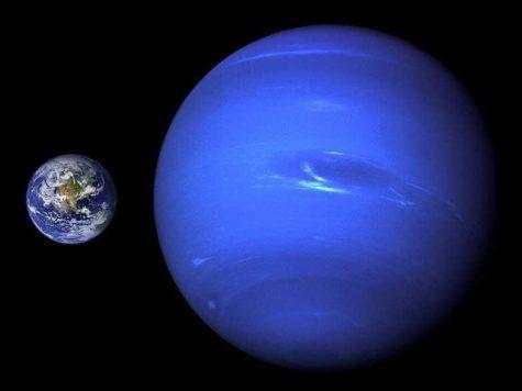 Нептун, Земля, планеты, фото, сравнение размеров