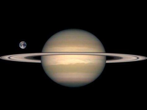 Сатурн, Земля, планеты, фото, сравнение размеров