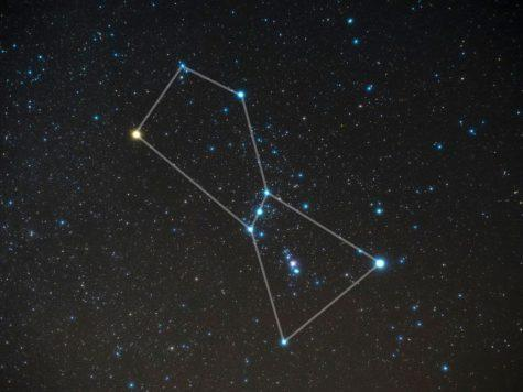 созвездие, астеризм, орион