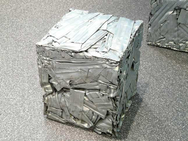 прессованный металлолом